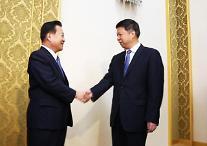 """'시진핑 특사' 쑹타오 귀국…中 """"한반도 문제 논의"""""""