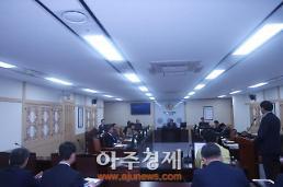 경북도의회, 2017년 행정사무감사 중단