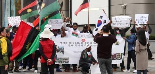 统计:向韩申请避难者超3万 767获难民地位
