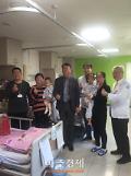 광명시 중국 랴오청 어린이 새 생명 선물