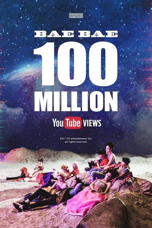 BIGBANG11首歌MV在Youtube播放量破亿