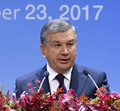"""乌兹别克斯坦总统成为""""首尔荣誉市民"""""""