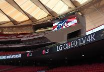 LG電子、AT・マドリードのホーム球場にLEDサイネージ設置
