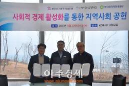 한국원자력환경공단, 사회적 경제 활성화 업무협약 체결