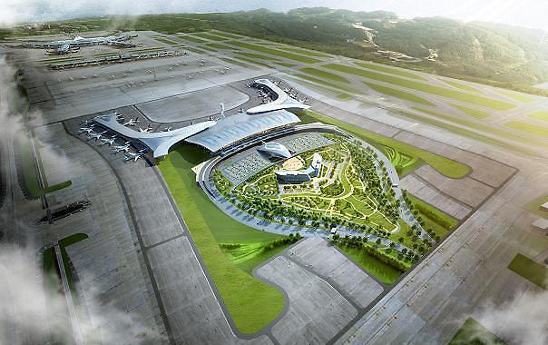 仁川机场新航站楼准备迎接奥运贵客