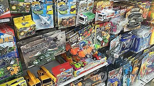 韩从中国进口玩具量猛增 四年间翻番