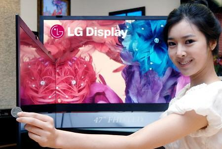 乐金显示或从明年起向三星电子提供电视液晶显示器