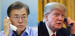 .韩美元首连续两天通话应对朝鲜导弹挑衅.