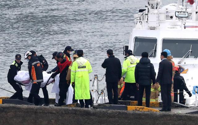 一钓鱼船与加油船在仁川海域相撞 造成13人死亡2人下落不明