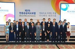 .韩中高层智库论坛将在北京举行.