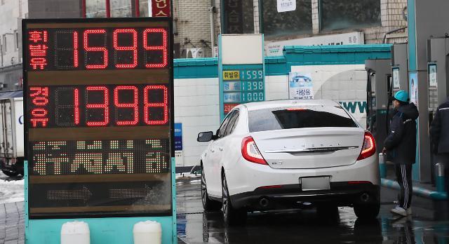 韩国油价持续上涨