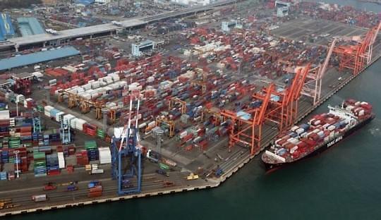 韩今年贸易额超1万亿美元 居全球第6位