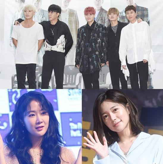 昭宥水晶男孩等共同参与《Running Man》录制