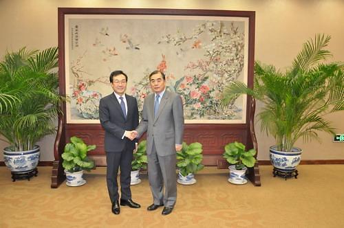 六方会谈中方首席代表孔铉佑于本周访韩