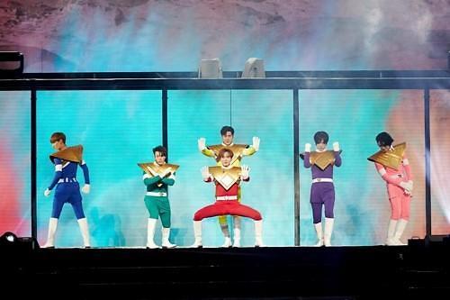 SJ首尔演唱会盛况空前