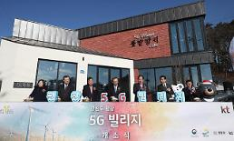 KT opens 5G-connected village near Winter Olympic venue