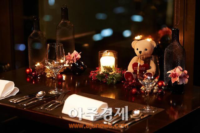 63레스토랑에서 즐기는 특별한 크리스마스·연말연시