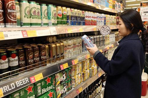 """韩""""独酒文化""""大热 进口啤酒销售排名赶超速溶咖啡"""