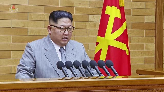 金正恩发表新年贺词 称有意派团参加平昌冬奥