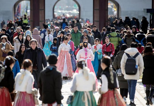 新年第一天 穿韩服逛古宫
