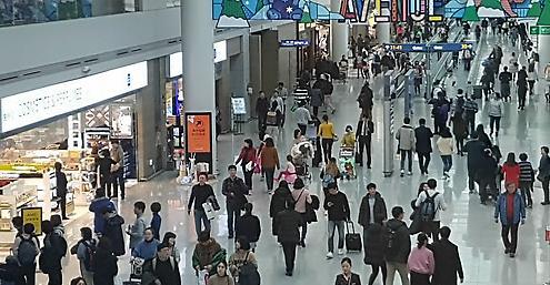 韩去年11月航线客运量同比增9%