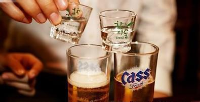 """朝鲜人也喝""""炸弹酒""""?当地官媒提醒:酒虽好喝切勿伤身"""
