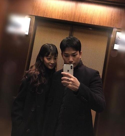 MBLAQ成员G.O晒与崔艺瑟合照 两人恋情坐实