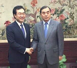 朝核六方会谈韩中团长明日在首尔会晤