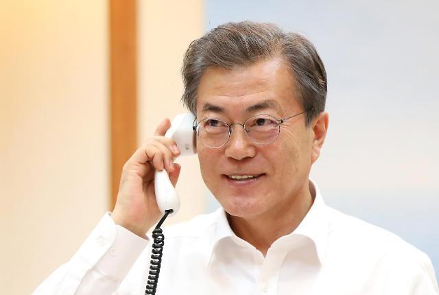 韩美首脑商定平昌冬奥期间不举行联合军演