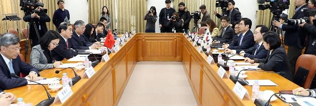 朝核六方会谈韩中团长会晤共同评价半岛局势