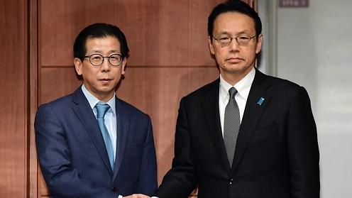 韩日磋商慰安妇协议问题
