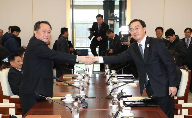 北高级别会谈顺利就朝鲜派团参加平昌冬奥达成一致