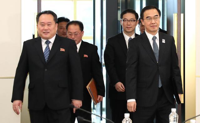 韩朝15日开会商讨朝鲜派艺术团访韩事宜