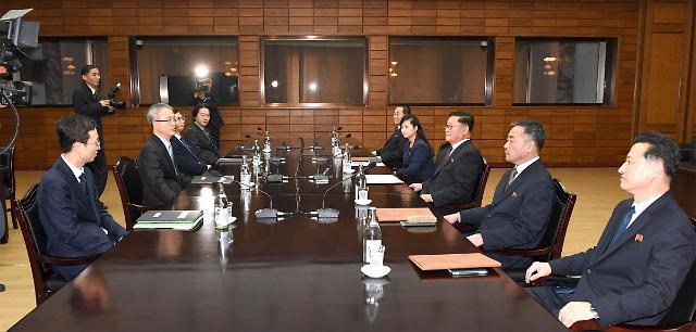韩朝举行会谈协商朝鲜艺术团参奥事宜