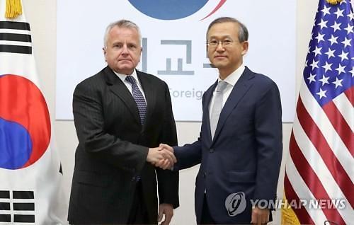 韩副外长明访美会晤美副国务卿
