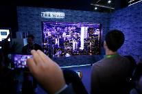 サムスン電子、「CES 2018」でモジュラーTV「ザ・ウォール」41つなど計116つの賞席巻