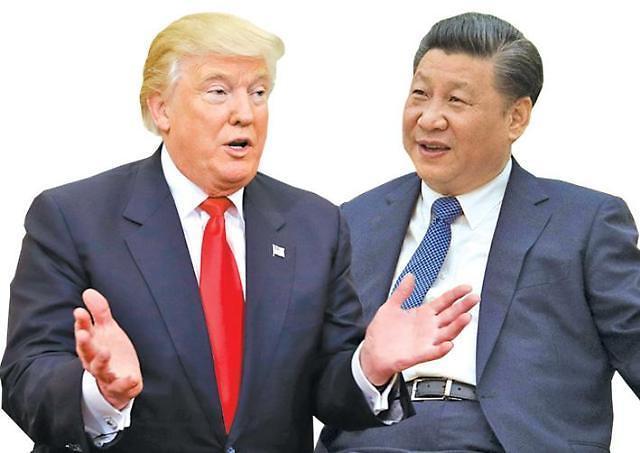 트럼프, 시진핑 미·중 정상 '한반도 긴장 완화 흐름 함께 이어가야'