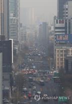 """""""숨막혀"""" 최악의 미세먼지, 수도권 17일도 저감조치 시행"""