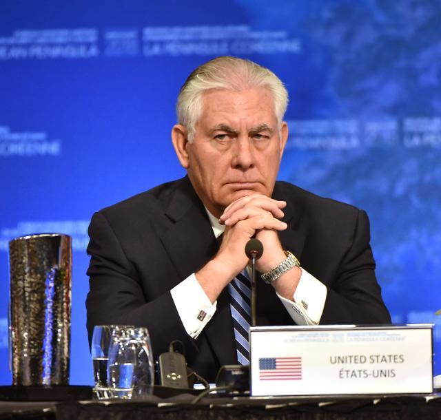 """美国务卿:美国拒绝接受""""双暂停""""倡议"""