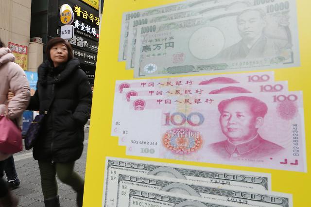 중국 위안화 고시환율(17일) 6.4335위안...0.06% 가치 상승