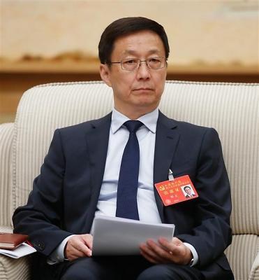 中方派韩正出席平昌冬奥会 令韩方大失所望