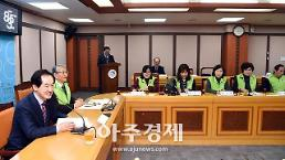 〔포토〕 생활공감 정책모니터단 월례회의 인사말하는 안병용 의정부시장