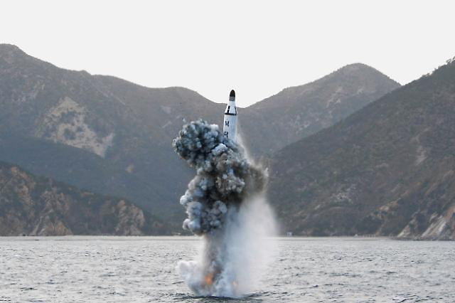 N. Korea continues to work on SLBM test stand barge: 38 North