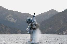 .N. Korea continues to work on SLBM test stand barge: 38 North .