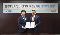 코스콤, 블록체인 생태계 구축 나선다…한국IBM과 양해각서 체결