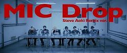 .BTS《MIC Drop》混音版连续7周挺进公告牌百强榜 创K-POP先河.