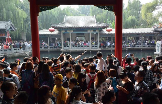 중국 춘제 황금연휴 인기 여행지…한국은 없네