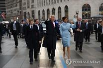 사진으로 보는 트럼프 취임 첫해