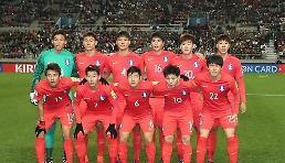 .韩国国足最新FIFA排名第59位 亚洲第四.