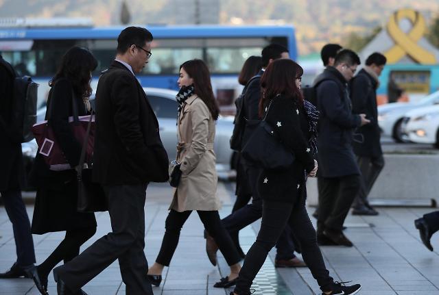 在韩国公共机构当差一个月能赚多少?